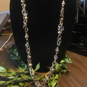 Vintage Brighton Metal Play/Chain Necklace